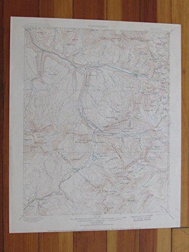 Telluride Colorado 1904 Original Vintage USGS Topo Map