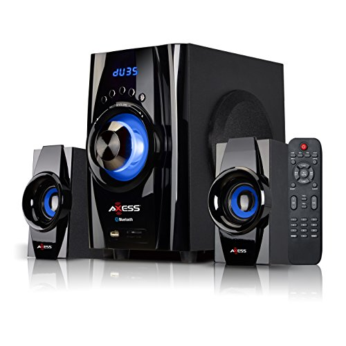 AXESS Bluetooth Mini System 2.1-Channel Home Theater Speaker System