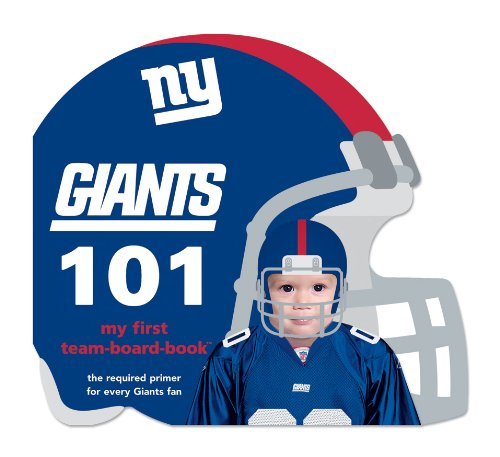 New York Giants 101 (My First Team-board-books) by NFL Board Books (Image #1)