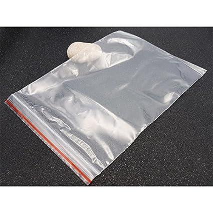 creafirm - 50 bolsas Zip 22 x 15 cm Embalaje Bijoux: Amazon ...