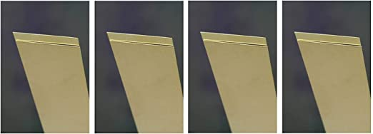 L Copper  Sheet Metal W x 10 in x 4 in K/&S  0.016 in
