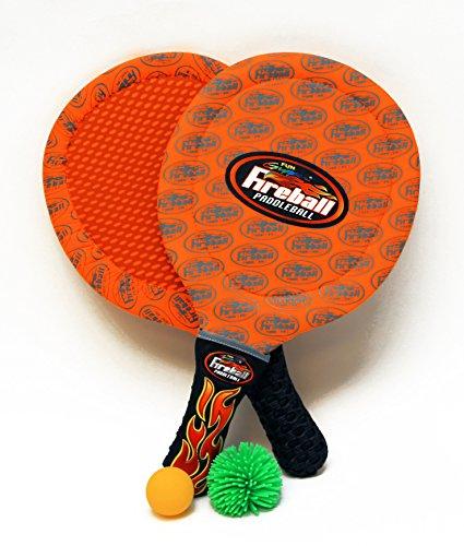 - Fun Gripper Fireball Paddleball Set - Orange by: Saturnian I P.E Supplier