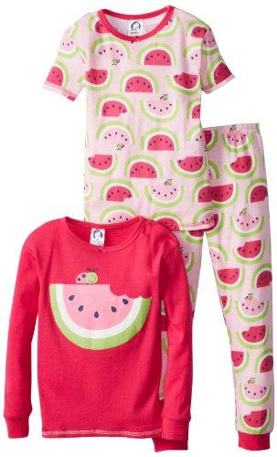 Gerber Girls 2-6X 3 Piece Pajama