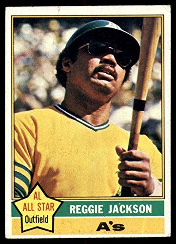 1976 Topps #500 Reggie Jackson Very Good Athletics