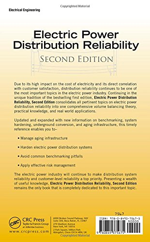 electric power distribution reliability second edition pdf