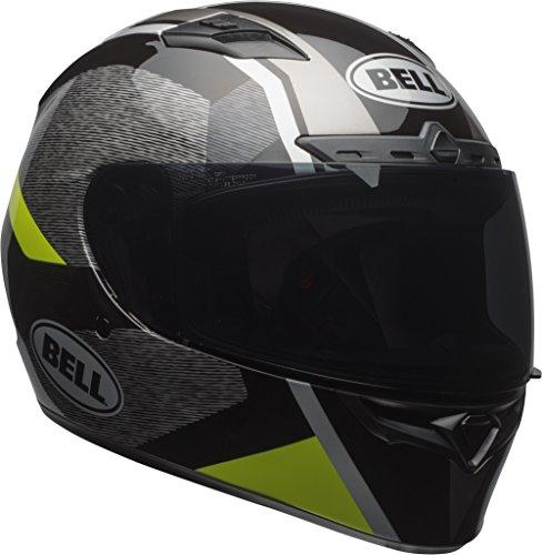 Bell Qualifier DLX MIPS Full-Face Motorcycle Helmet (Accelerator Gloss Hi-Viz Yellow/Black, Medium)