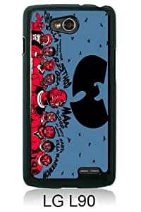Wu-tang Clan Black New Cool Custom Design LG L90 Cover Case