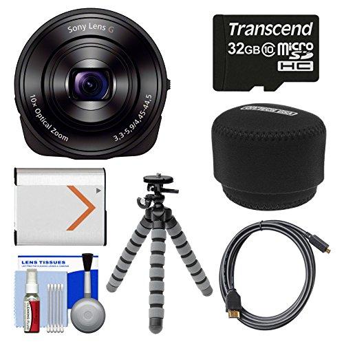 Cyber Shot DSC QX10 Smartphone Attachable Lens Style