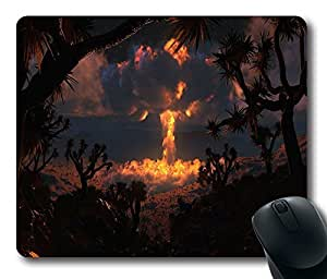 """Nuke In The Nature Custom Rectangle Rubber Mouse Pad Oblong Gaming Mousepad in 220mm*180mm*3mm (9""""*7"""") -100837"""