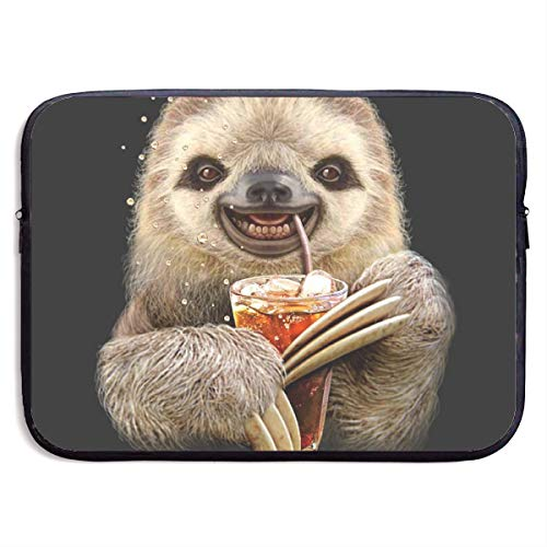 LiaanQianga Sloth Juice 13-15 Inch Laptop Sleeve Bag - Tablet Clutch Carrying Case,Water Resistant, - Carrying Notebook Clutch Case