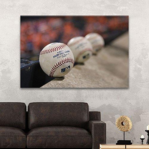 Sports Theme Close up Baseballs