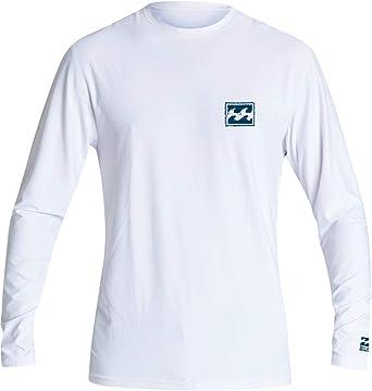 Billabong Warchild - Camiseta de manga larga para hombre - Blanco - Large: Amazon.es: Ropa y accesorios