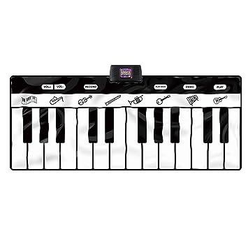 DUWEN Teclado para niños 24 teclas Pedal multifuncional Piano manta Principiante Chica Juguete: Amazon.es: Instrumentos musicales