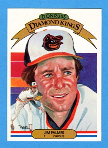 Jim Palmer 1982 Donruss Diamond Kings (Orioles) (Palmer Card Jim)