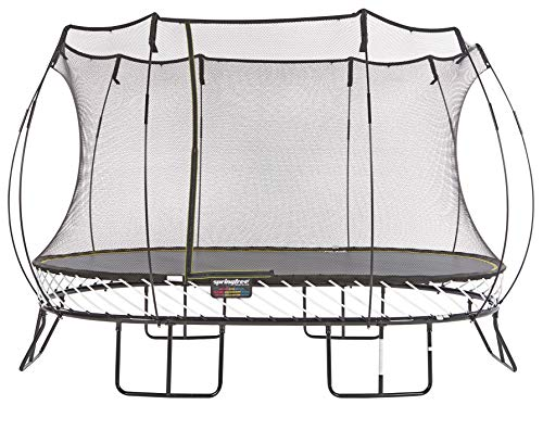 Springfree Trampoline - 8x13ft Large Oval Trampoline | Trampoline Only 8' Composite Safety Toe