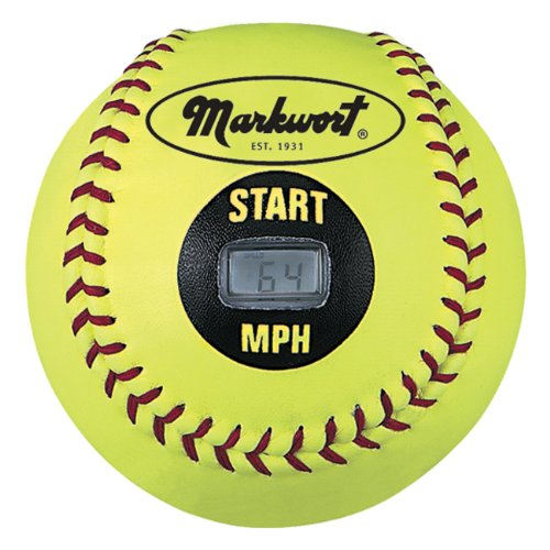(Markwort Speed Sensor Yellow Cover Softball (12-Inch))
