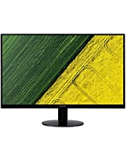 Acer SA0 SA270A 27-Inch FHD IPS Ultra-Thin Zero Frame Display Monitor, AMD Free Sync, 75Hz Refresh Rate, Black