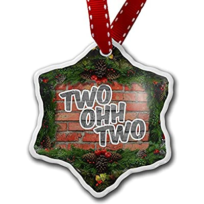 Christmas Ornament 202 Washington, DC brick - Neonblond