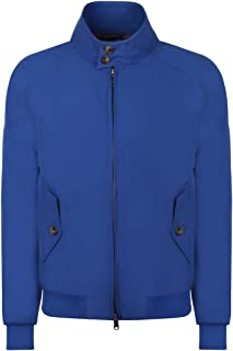 Men's Baracuta Made In England G9 Harrington Jacket - Royal Blue