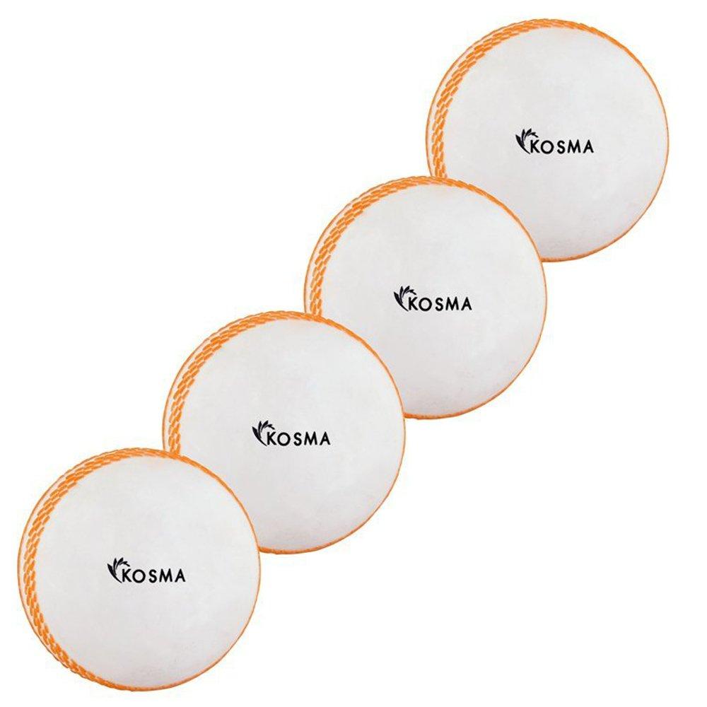 Kosma Wind Balle de Cricket Balles   Plastique Souple Ballon d'entraînement intérieur/extérieur   Practise Boule