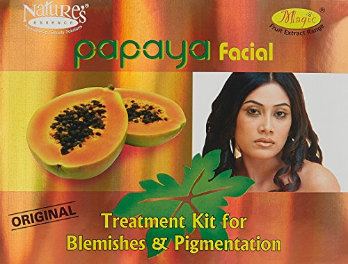 Nature's Essence Papaya Facial Original Treatment Kit - Blemishes & Pigmentation - 425g (Best Facial For Pigmentation)