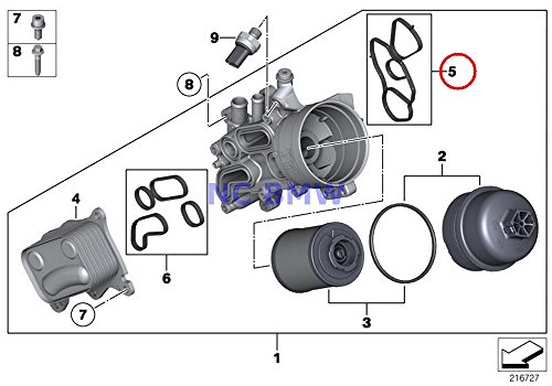 - BMW Mini Genuine Gasket Set - Oil Filter Housing To Block Coop.S JCW Cooper S Coop.S JCW Cooper S Coop.SX JCW Cooper S Cooper SX C