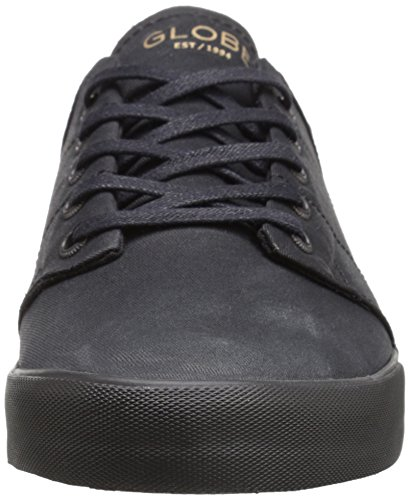 Globe Mens Los Angered Low Lifestyle Shoe Shoe Nero