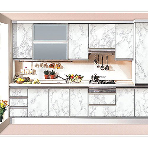 wallstickery marble contact paper for countertop look gray With kitchen colors with white cabinets with where to get inspection sticker