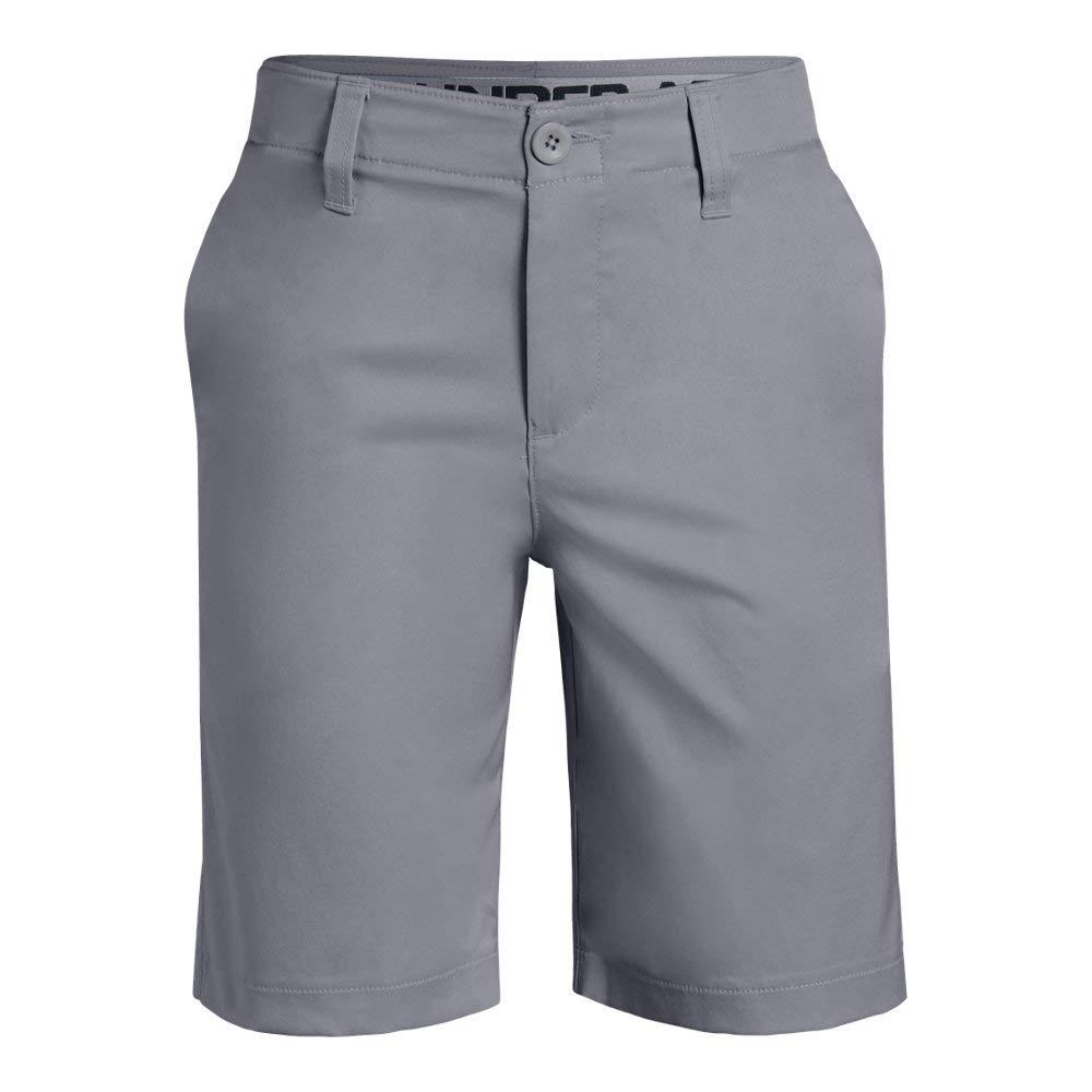 Under Armour boys Match Play 2.0 Golf Short, Mod Gray (011)/Mod Gray, 8
