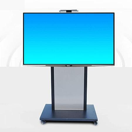 HANG Base de TV móvil, TV Carro para Paneles 40-75 Pulgadas LED LCD Plasma Plana con Gabinete de Ajuste de Altura: Amazon.es: Hogar