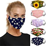 Aadiju 5PC Adult Face Mask for dust Protection