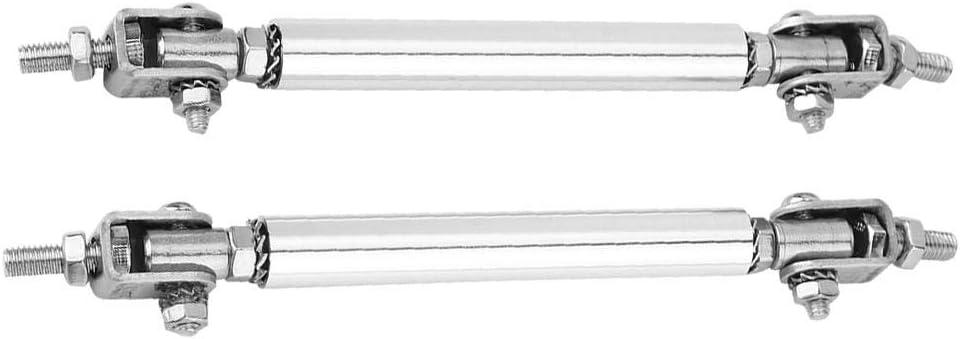 Red Car Bumper Protector,Akozon Car Bumper Protector Lip Rod 2Pcs 75mm Car Bumper ProtectorSplitter Strut Tie Bar Support Front Rear Universal