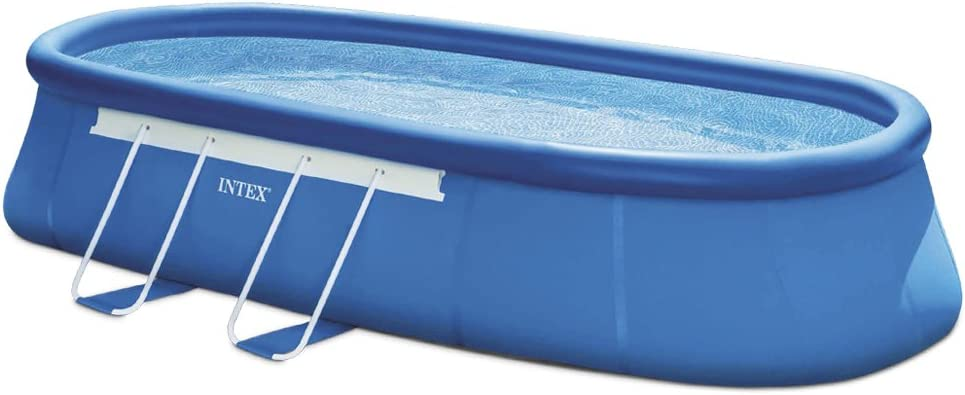 Intex 28192NP - Piscina Desmontable Tubular Oval Frame ...