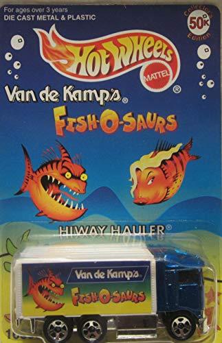 Hot Wheels Van de Kamp's Fish-O-Saurs Hiway Hauler Collectors Edition Die Cast Car