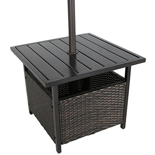 Buy umbrella base table