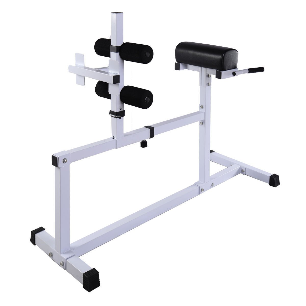 Goplus Fitness Hyper Extension Hyperextension Bench Chair Workout Core Abdominal