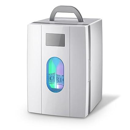 SL&BX Nevera coche,Refrigeradores compactos portátiles pequeñas mini nevera calentador frío dormitorio casero pequeño doble