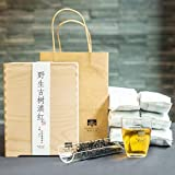 Nanjie black tea, 2018 [wild ancient tree dianhong] gongfu black tea, dian black tea [wild ancient tree black tea] mellow taste, full and non-astringent, long-lasting aroma, 15.8ounces,giving gift box