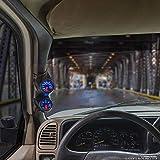 "GlowShift Black Dual Pillar Gauge Pod for 1988-1991 Honda Civic - ABS Plastic - Mounts (2) 2-1/16"" (52mm) Gauges to Vehicle's A-Pillar"