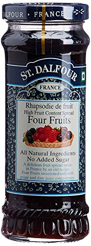 St. Dalfour - St Dalfour Four Fruit Preserve(Pack of 6) (Four Fruits)