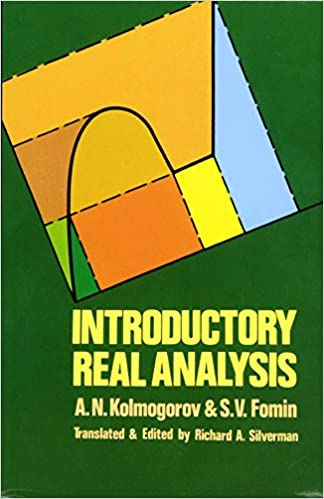 Introductory Real Analysis (Dover Books on Mathematics)