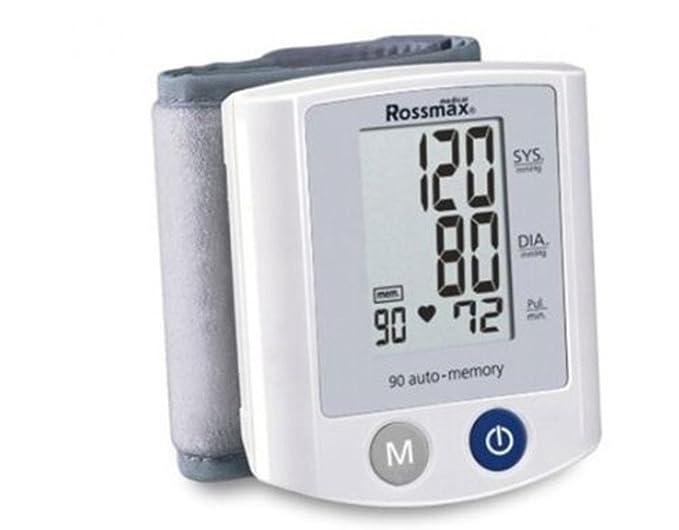 Tensiómetro electrónico de muñeca ROSSMAX RX S150: Amazon.es: Salud y cuidado personal
