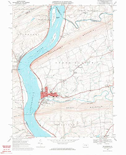 - YellowMaps Millersburg PA topo map, 1:24000 Scale, 7.5 X 7.5 Minute, Historical, 1969, Updated 1972, 26.88 x 21.82 in - Tyvek