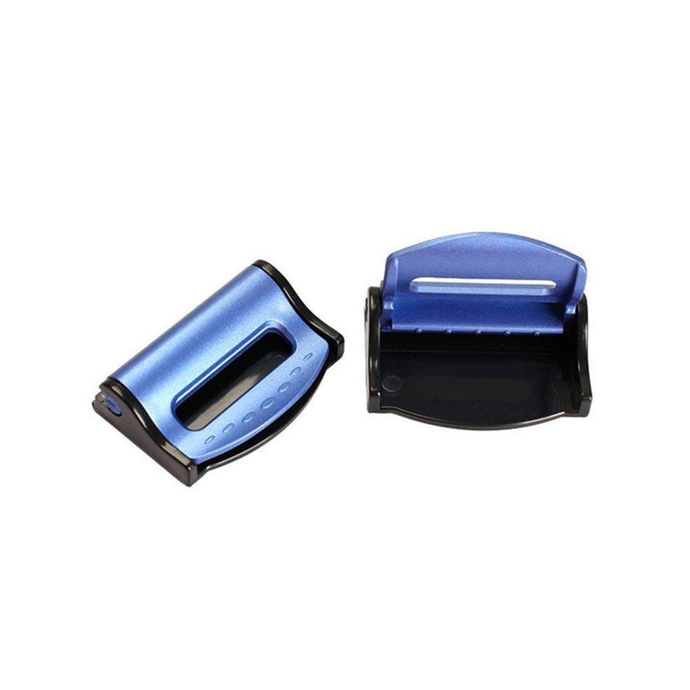 4 pcs Pianza del Cinturones de seguridad del Cohce,GZQ Negro Correa Ajustable Clip de Seguridad del Asiento de Coche,Ajustable Tap/ón Hebilla Clip Sujecion para Cinturon