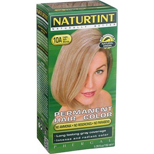 Naturtint Permanent Hair Color - 10A Light Ash Blonde, 5.28 fl oz by Naturtint