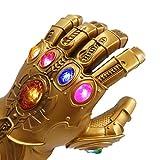 Kids LED Light Up Glove Thanos Gauntlet Props for