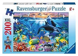 Ravensburger 12663 Mundo submarino - Puzzle (200 piezas)