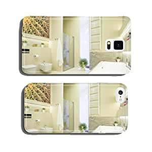 Luxury bathroom in pastel colors cell phone cover case Samsung S6