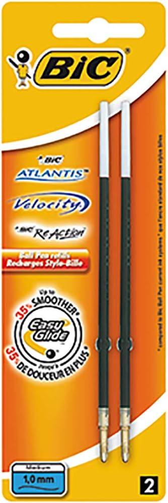 schwarz BIC Kugelschreiber-Mine Easy Glide Strichfarbe