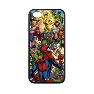 Custom Spider Man Back Cover Case for iphone 5s for you JN5s for you-159